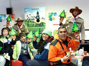 Honda presenta un plan de reforestación de los bosques patagónicos