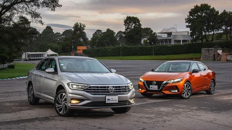 Frente a frente: Volkswagen Jetta vs Nissan Sentra, la pelea por el primer lugar