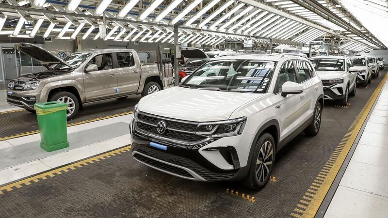 Ya hay más de 10.000 Volkswagen Taos fabricadas en Argentina