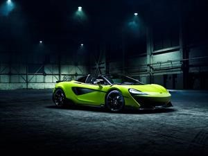 McLaren 600LT Spider 2019: poder y distinción inglesa