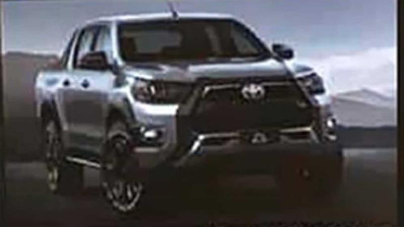 Primeras imágenes de la Toyota Hilux GR Sport 2021