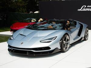 Lamborghini Centenario Roadster en Pebble Beach 2016