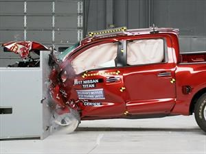 Nissan Titan 2017 no logra el Top Safety Pick del IIHS