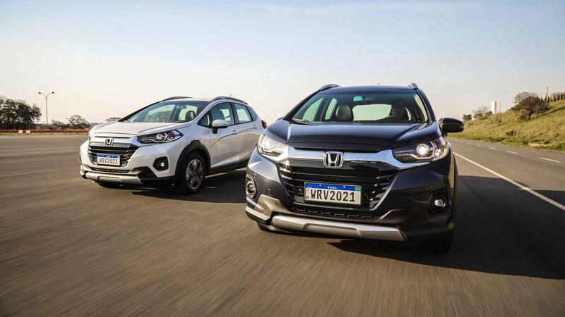 Honda WR-V 2021: Renovación estética y de equipamiento