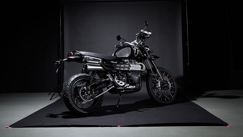 Triumph Scrambler 1200 Bond Edition, la primera moto oficial del agente 007