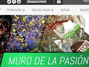 Bridgestone estrena website dedicado al fútbol