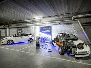 Nissan ilumina estadio con baterías de carros eléctricos