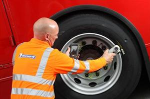 Michelin presenta el primer neumático con microchip