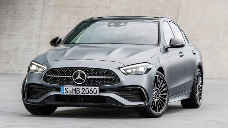 Mercedes-Benz Clase C 2022: más grande, más cómodo, más lujoso y más eficiente