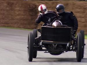 Video: Así derrapa un Darracq de 1905 en Goodwood