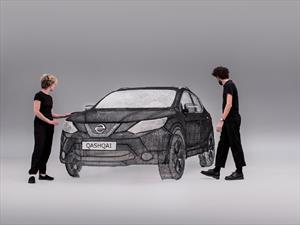 Nissan Qashqai: hecho con una lápiz 3D