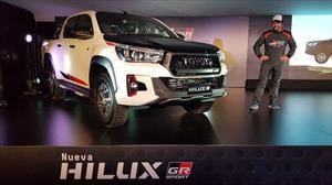 Toyota Hilux Gazoo Racing V6: ahora sí es más deportiva