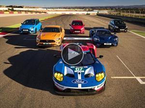 Video: Ocho deportivos de Ford se miden en un circuito