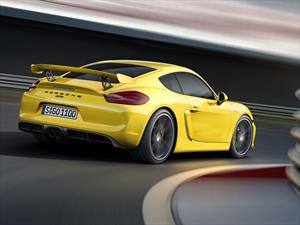 Porsche Cayman GT4 2015: realza su pureza en Ginebra