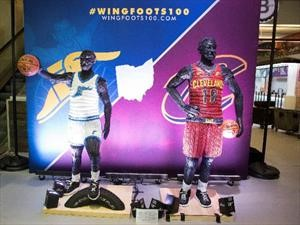 Goodyear hace un homenaje a su equipo de baloncesto