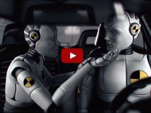 Video: Cuando los crash dummies tienen sentimientos
