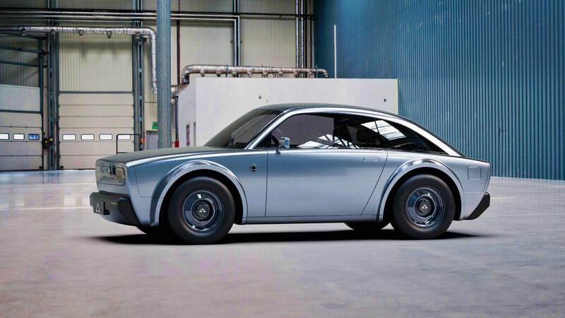 Conoce el Alpha ACE, un curioso auto eléctrico de 400 Km de autonomía