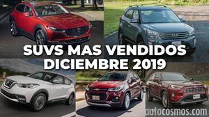 Las 10 camionetas más vendidas en diciembre 2019