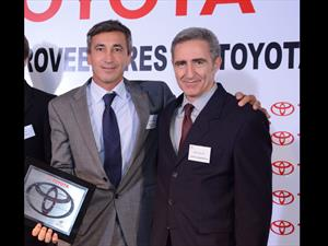 Fric-Rot premiado por Toyota por su capacidad logística