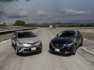 Frente a frente: Toyota C-HR 2018 vs Mazda CX-3 2019