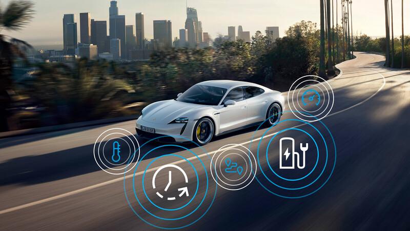 Porsche Taycan recibe su primera actualización