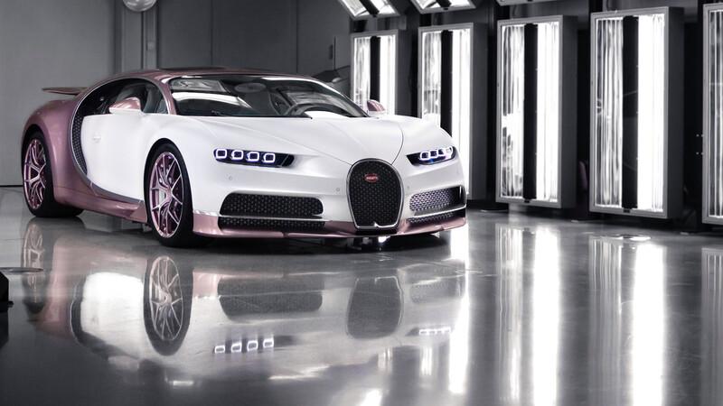 Este Bugatti Chiron Sport es el regalo de San Valentín definitivo