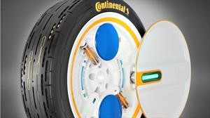 Continental desarrolla una llanta que se infla sola mientras conduces