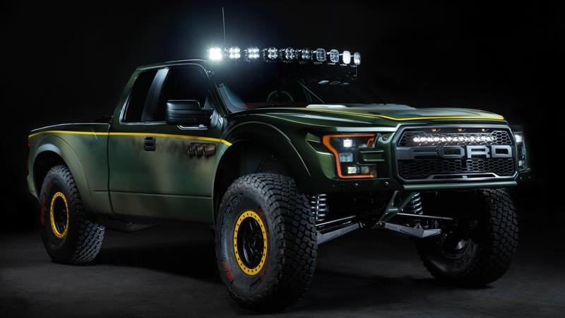 Esta Ford Raptor estrena un V8 de General Motors