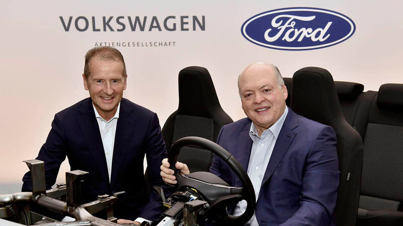 Ford usará una plataforma de VW para su primer auto eléctrico accesible