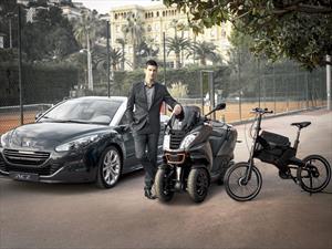 Novak Djokovic, imagen de Peugeot ante el mundo