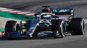 F1 2020 pretemporada Día 6: Bottas y Mercedes vuelan