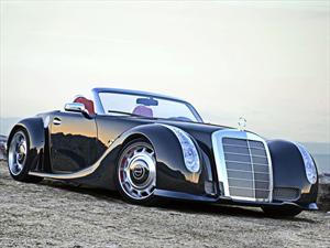 Un Mercedes-Benz que viaja en el tiempo