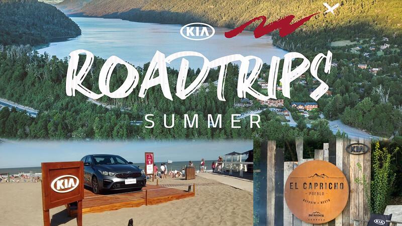 Verano 2021: KIA hace base en la costa y en el sur