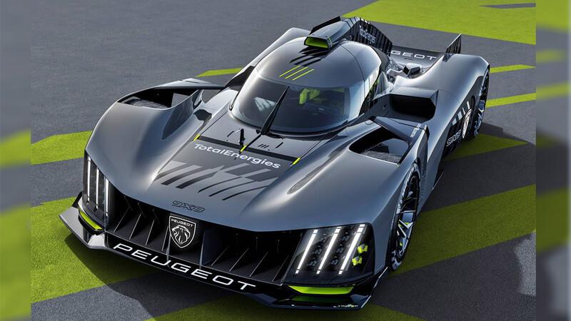 Peugeot 9X8, hiperauto concebido para ganar las 24 Horas de Le Mans
