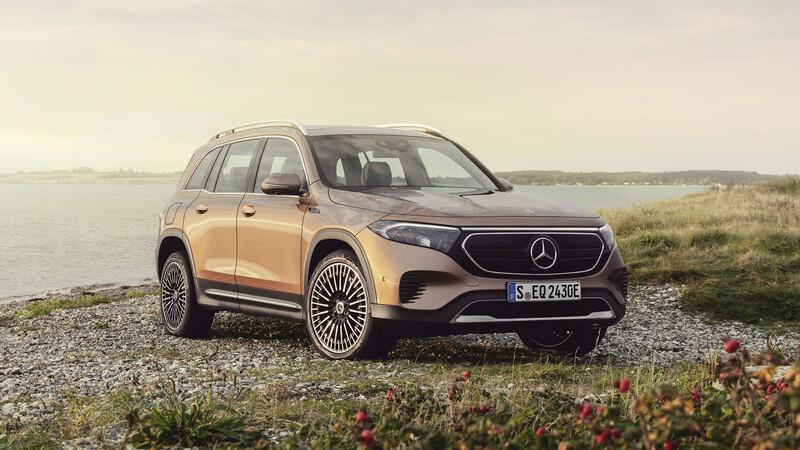 Mercedes-Benz EQB 2021: mucha practicidad y espacio sin emisiones
