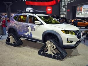 Nissan Rogue Trail Warrior Project se presenta