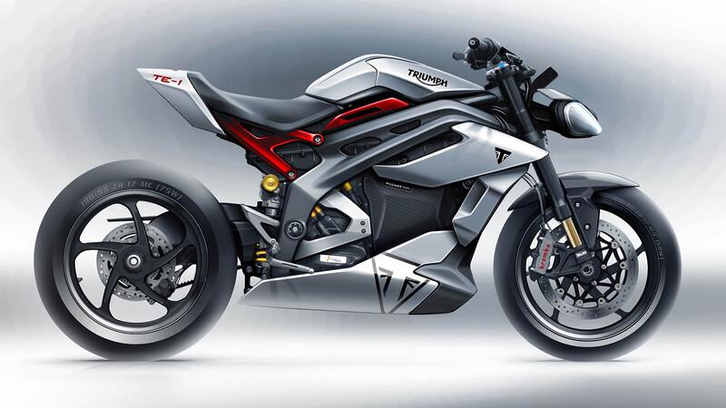 Triumph concluye la segunda fase de desarrollo para su moto eléctrica