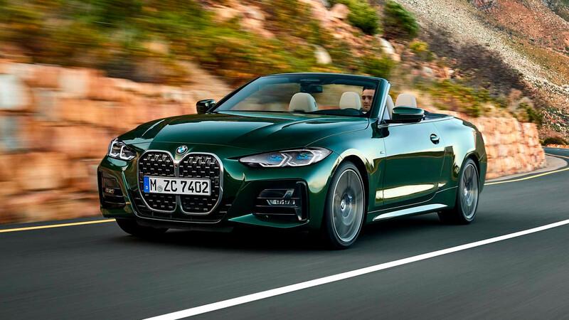 BMW Serie 4 Convertible 2021, más aislado del exterior