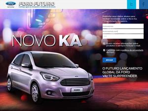 El nuevo Ford Ka ya tiene su sitio de internet