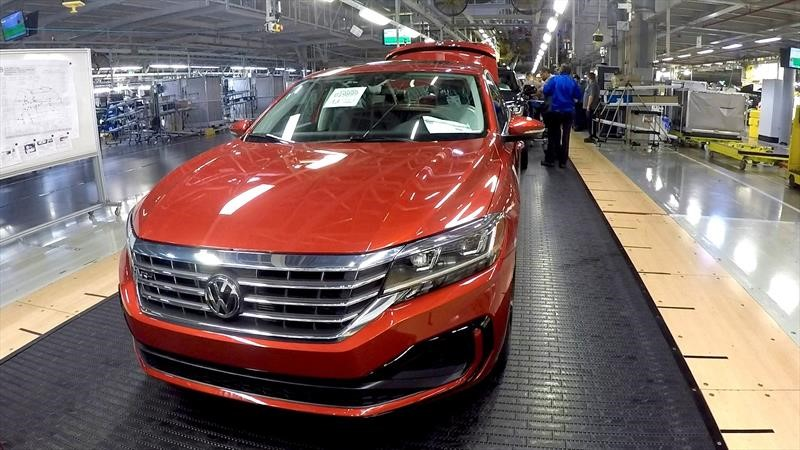 Volkswagen registra 1,000,000 de autos y SUVs producidos en la planta de Chattanooga