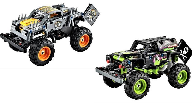 LEGO presenta sus Monster Jam