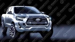Así lucirá la Toyota Hilux rediseñada