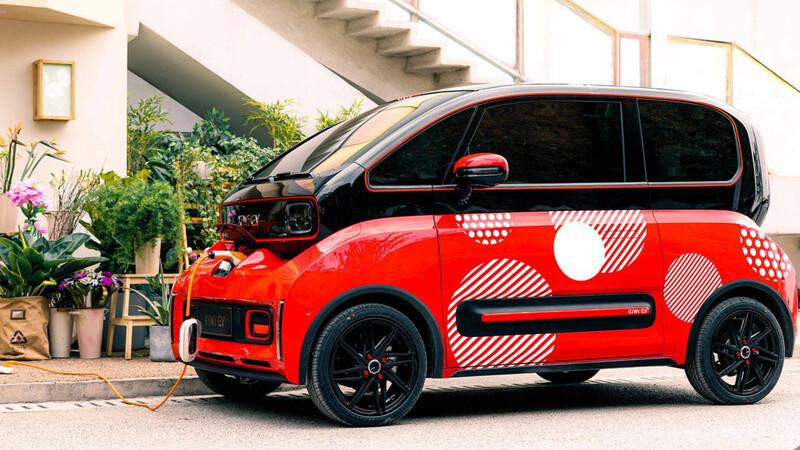 Este auto eléctrico ofrece conducción autónoma con las tecnologías de DJI, el fabricante de drones