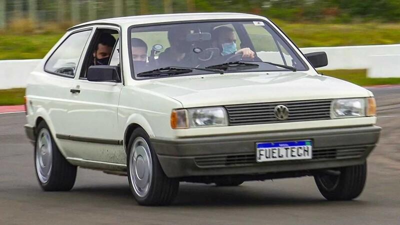 Este Volkswagen Gol 1994 va camino a ser eléctrico