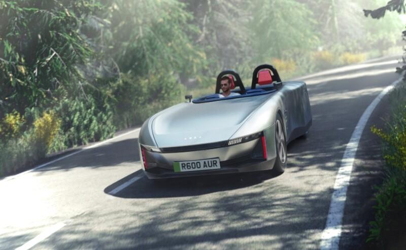 Aura, el auto británico deportivo y amigable con el ambiente