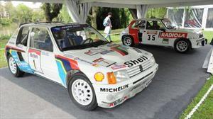 Autoclásica 2019: el Peugeot 205 de Carlos Reutemann fue protagonista