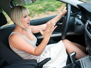 Conducir en horas pico es más estresante que el trabajo