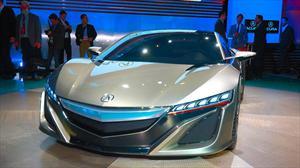 Honda NSX, el mito regresa en el Salón de Detroit