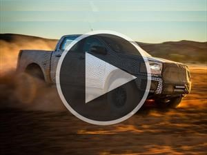 Video: Ya es oficial, se prepara la Ford Ranger Raptor