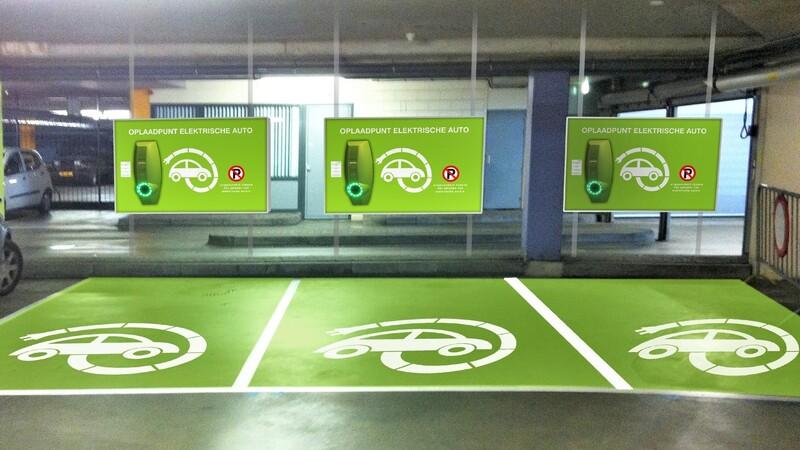Reglamentan parqueaderos de vehículos eléctricos